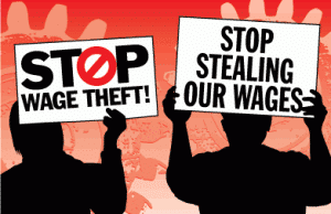 Wage Theft Poster